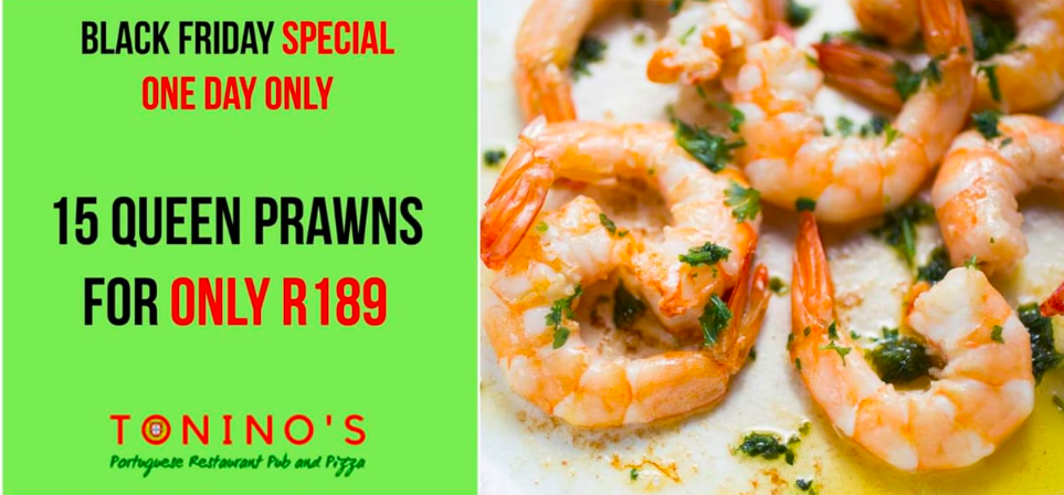 Black Friday Prawn Special
